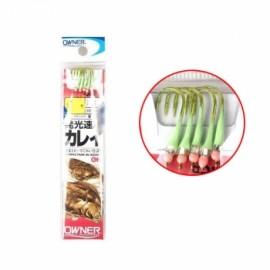 오너) 도다리 원투낚시 묶음 바늘채비 / 원투낚시 도다리 전용채비