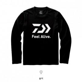 다이와 DE-82009 롱 슬리브 FEEL Alive 티셔츠 한국다이와 정품