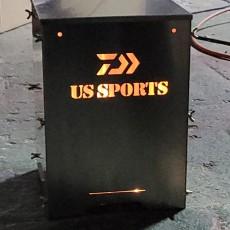 유에스스포츠 동계용 촛불의자 엉따낚시의자 한정수량